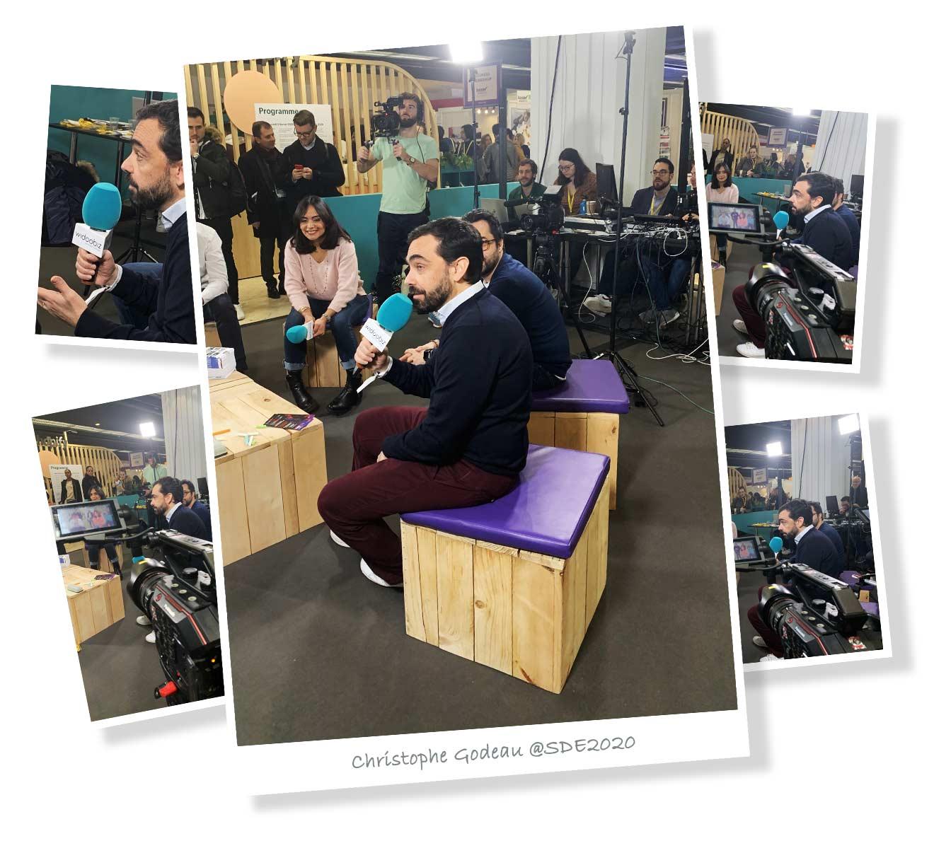 Christophe Godeau au Salon des Entrepreneurs