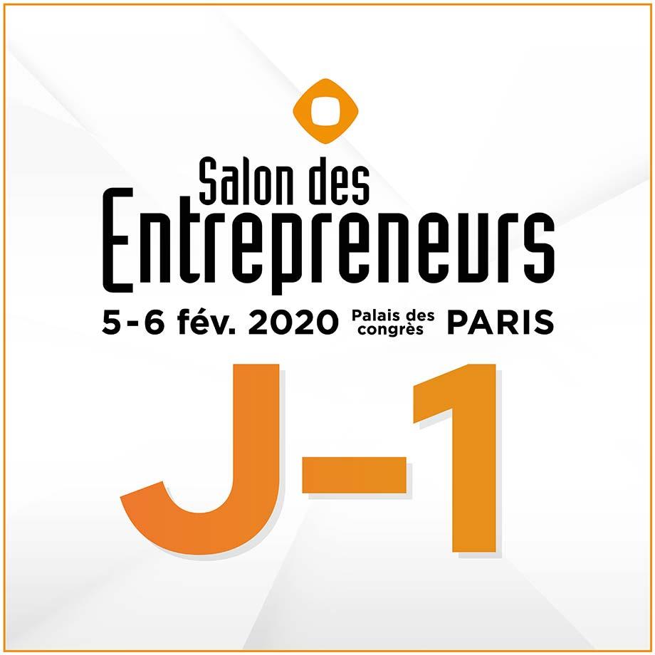 Jérôme Winterholer au Salon des Entrepreneurs de Paris 2020