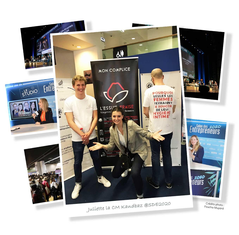 Photos du Salon des Entrepreneurs 2020 à Paris
